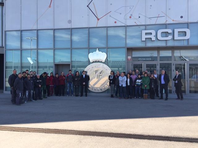 MasterCold y el RCD Espanyol se solidarizan con las víctimas del atentado en París