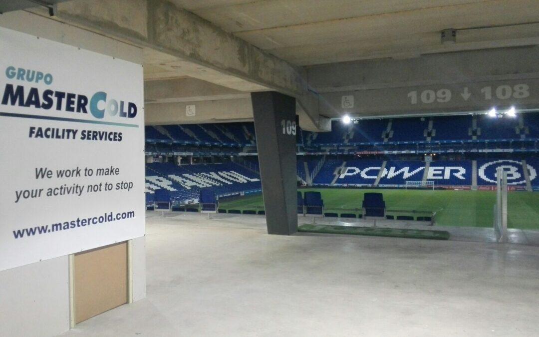 Grupo Mastercold, Ampliando estadio RCDE
