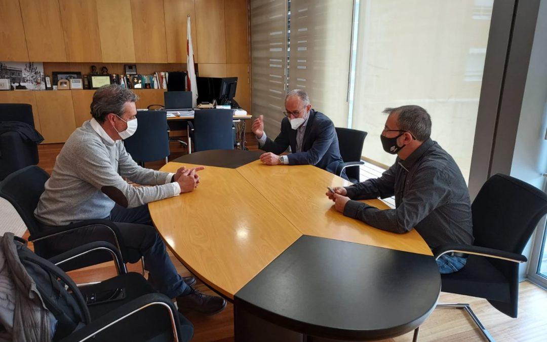 Grupo Mastercold se reúne con el Alcalde de Mollet del Valles para acordar fórmulas de creación de empleo