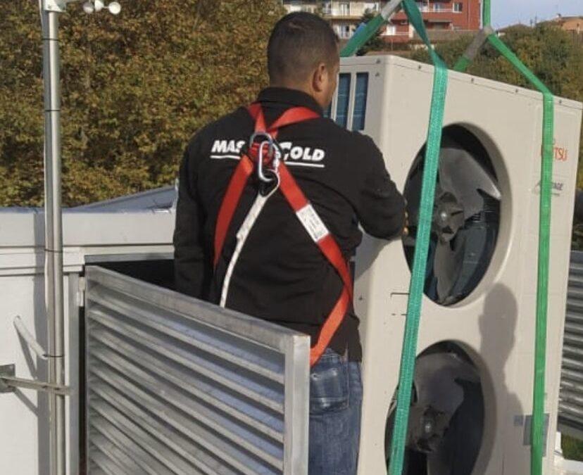 Grupo Mastercold acelerando sustitución de equipos de climatización, Centro de Empresas, Barbera (Bcn)