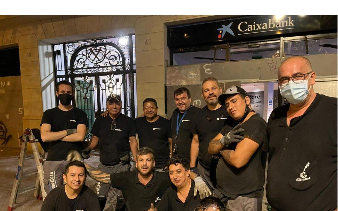 Grupo Mastercold orgullo de operarios