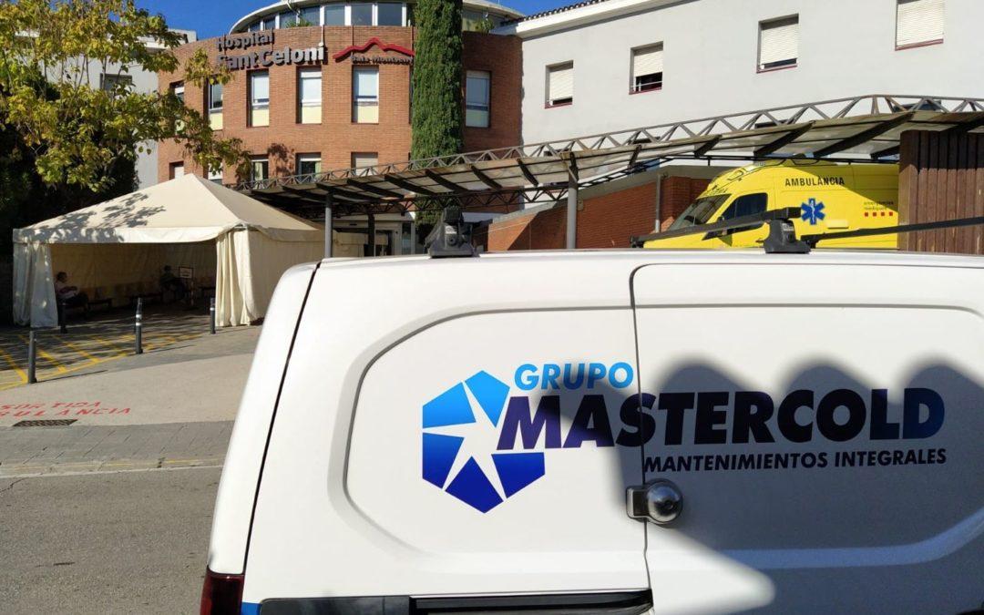 Grupo MasterCold iniciamos instalaciones en la ampliación del Hospital Sant Celoni (Bcn)