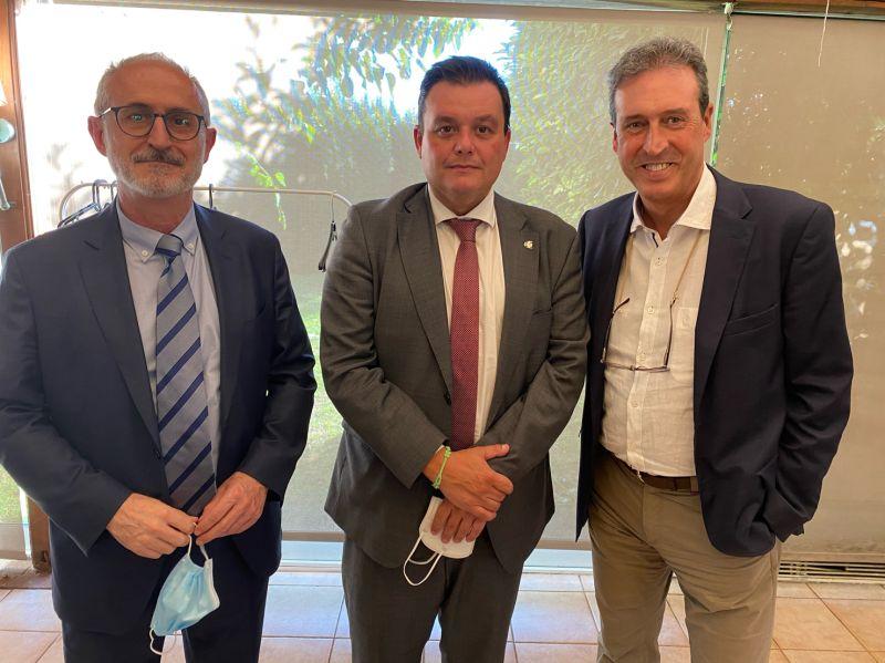 Agustin Martinez CEO de Grupo MasterCold presente en la actual situación deportiva con el Alcalde de Mollet Sr.Monras y el Secretario General del Ministerio de Cultura y Deportes Sr.Victor Francos